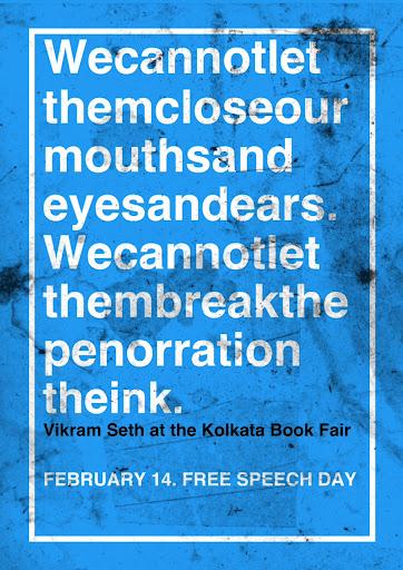 #flashreads for free speech/ Feb 14th