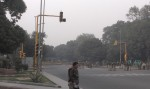 ...was a second line of barriers, plus water cannon trucks. The Delhi government would really, really like you not to do anything at India Gate except eat ice cream.