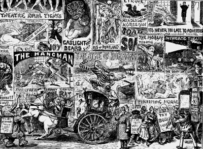 'How We Advertise Now'--Punch, Victorian London