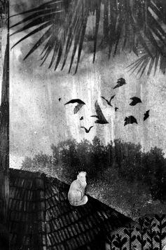 Magnificat, illustration by Prabha Mallya; copyright Aleph Book Company