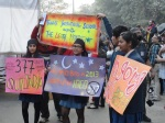 Students from Tagore International coming out in support of the LGBT movement.