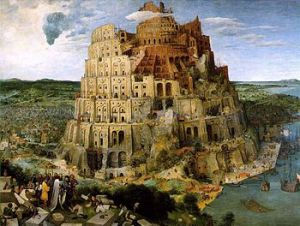 The Tower of Babel, Bruegel.