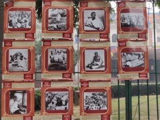 The Mahatma Gandhi wall at Jamia
